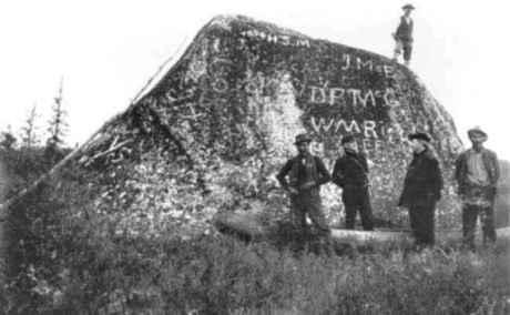 Boundary Rock 1899