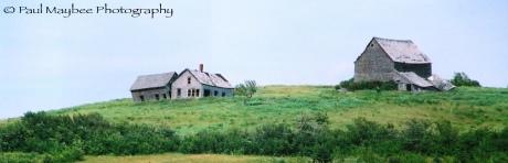 Fallen Farmhouse - Paul Maybee