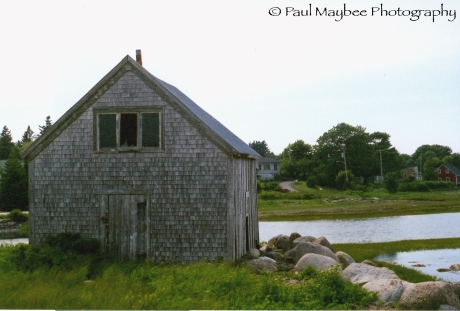 Rose Bay Barn (back) - Paul Maybee