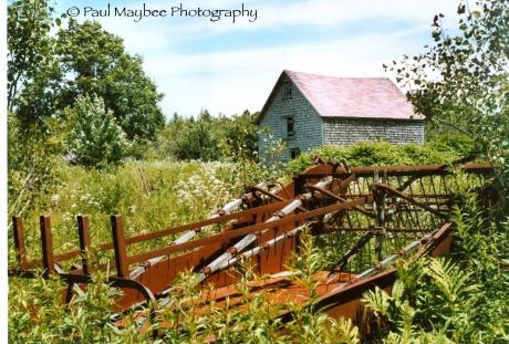 Old Barn - Paul Maybee