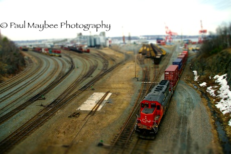 Ship Yard Trains - Paul Maybee