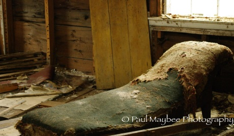 Abandoned Chair - Paul Maybee