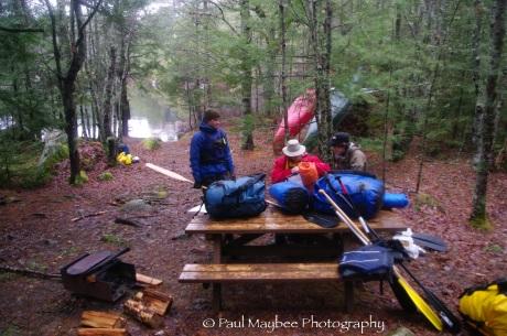 Peskawesk campsite