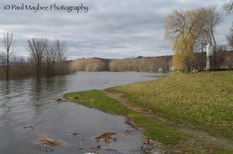 Fredericton Flood - soccer field
