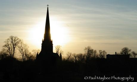 Fredericton - sunset