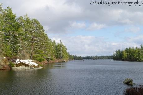 Camp at Junction Lake