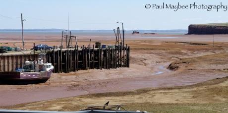Pier at Blomidon