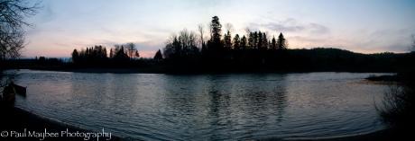 Patapedia River Sunrise